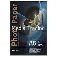 Папір Tecno 10x15cm 180g 50 pack Glossy, Premium Photo Paper CB (PG 280 A6 CP50)