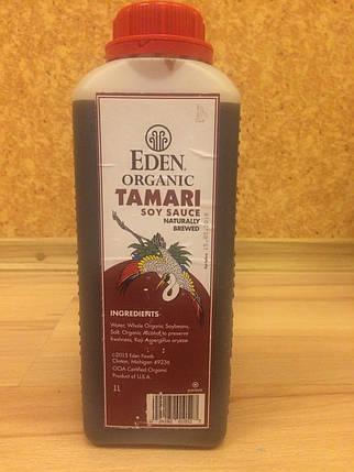 """Соевый соус """"Eden organiс TAMARI"""" США 1 л, фото 2"""