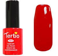 Гель-лак Tertio 009 Алый красный эмалевый, 10 мл.