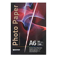 Папір Tecno 10x15cm 230g 50 pack Glossy, Premium Photo Paper CB (PG 230 A6 CP50)