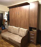 Шкаф-кровать с диваном и пеналом, фото 1