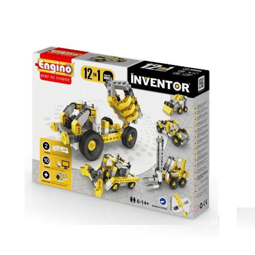 Уценка конструктор серии INVENTOR 12 в 1 - Строительная техника