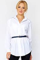 Белая рубашка из коттона Алита