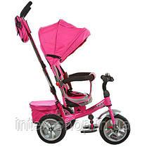 Детский трехколесный велосипед Turbotrike (M 3205A-3) РОЗОВЫЙ, фото 2