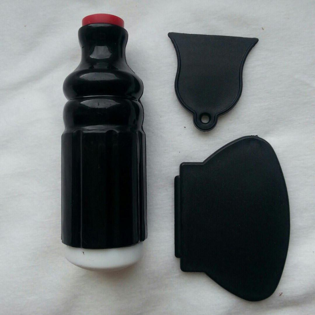 Печатка-штамп двухсторонняя черного цвета 3 в 1