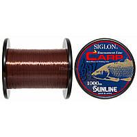 Леска Sunline SIGLON CARP 1000м (коричн.) 0.38мм 9,5кг (1658.05.73)