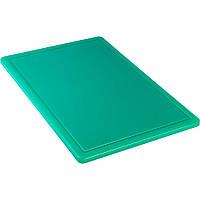 Доска разделочная зеленая 600*400*18мм