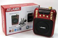 Активная акустика Atlanfa at-r30, usb/sd+громкоговоритель.Портативная колонка Atlanfa AT-R30.