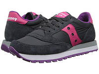 Кроссовки женские Saucony Originals Jazz Original - Charcoal/Pink, фото 1