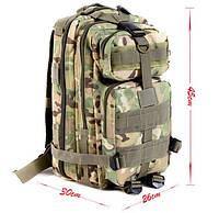 Рюкзак тактический штурмовой 26L Цвет мультикам, хаки