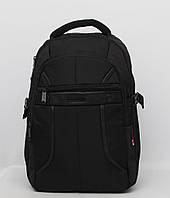 Качественный черный мужской рюкзак на каждый день. Хорошее качество. Доступная цена.  Код: КГ538