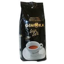 Итальянский кофе в зернах Gimoka Gran Gala темной обжарки (Джимока черная), 1кг