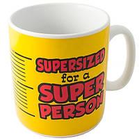 Кружка-гигант SUPER PERSON