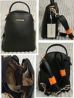Стильный женский рюкзак David Jones в черном цвете