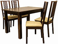 Комплект AD22 (стол + 4 стула) Richman