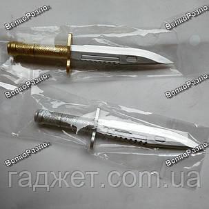 Ручка шариковая Нож с золотым колпачком., фото 2
