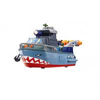 """Функциональный военный корабль Dickie Toys """"Шторм"""" с субмариной, звуком и светом, 33 см (3308365)"""