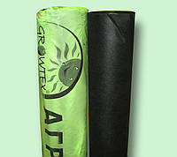 Агроволокно черное 50 г/м2 1,07*100м, фото 1