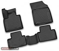 Коврики в салон VOLVO XC90 с 2014- , цвет:черный , производитель NovLine