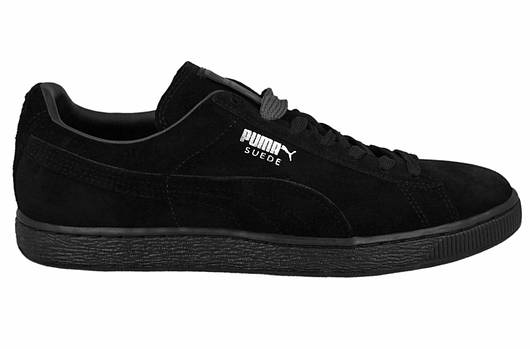 Мужские кроссовки   Puma Suede Classic Black
