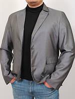 Мужской однотонный графитовый пиджак Suit