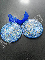 Магнит-подхват для штор Созвездие цвет синий