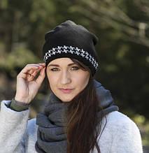 Комплект женский шапка и хомут от  ACHTI Польша