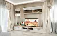 Гостинная Пальмира, корпусная мебель для гостинной в стиле Модерн