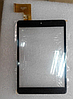 Оригинальный тачскрин / сенсор (сенсорное стекло) для TurboPad 704 (черный цвет, тип 1, самоклейка)