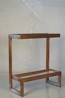 Металлический консольный столик. Цвет Copper. Ручная работа. Сделано в Индии.