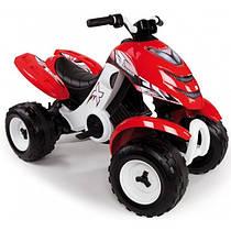 Детский квадроцикл Quad X-POWER 6V Smoby 33048