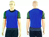 Манишка (накидка) мужская односторонняя цельная (сетка) CO-3946-B (PL, р-р 62х56,5см, синяя)