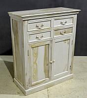 Комод Taberna White 4 DRAWER 2 DOOR SIDEBOARD. Цвет белёный. Комод в стиле Прованс. Ручная работа.