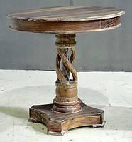 CONSOLE TABLE. Резьба, дерево. Ручная работа. Сделано в Индии.