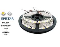 Светодиодная лента 14.4 Вт/м LedEX 60 LED/метр (6500К, влагозащищенная)