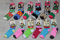 Детские демисезонные носки для девочки с ярким рисунком тм Корона р.31-36