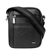 New 2017! Брендовая мужская сумка Cavaldi Польша (черный)