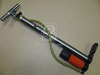 Насос ручной с ресивером и манометром 38x500mm <ДК>