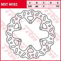 Тормозной диск TRW-Lucas MST441EC