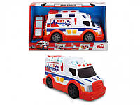 """Функциональное авто Dickie Toys """"Скорая помощь"""" со световыми и звуковыми эффектами, 33 см (3308360)"""