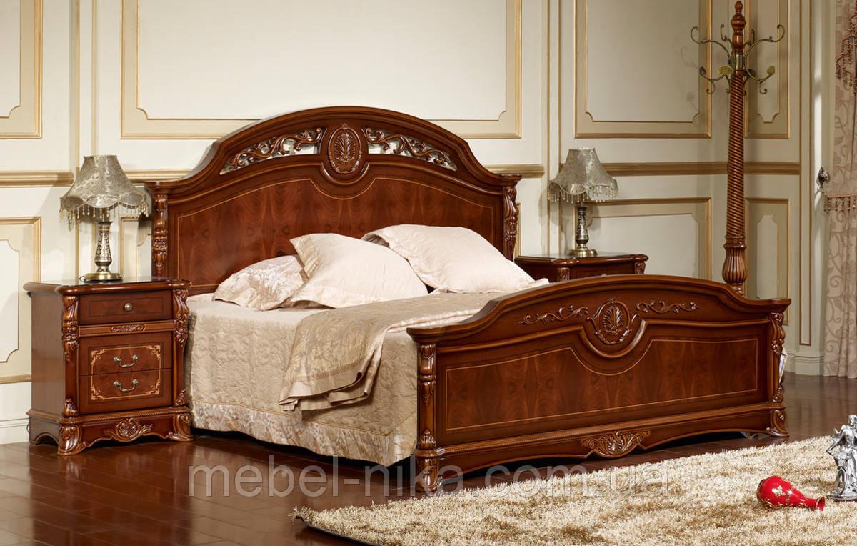 Кровать  Беатриче CF 8053 1600*2000 орех итальянский