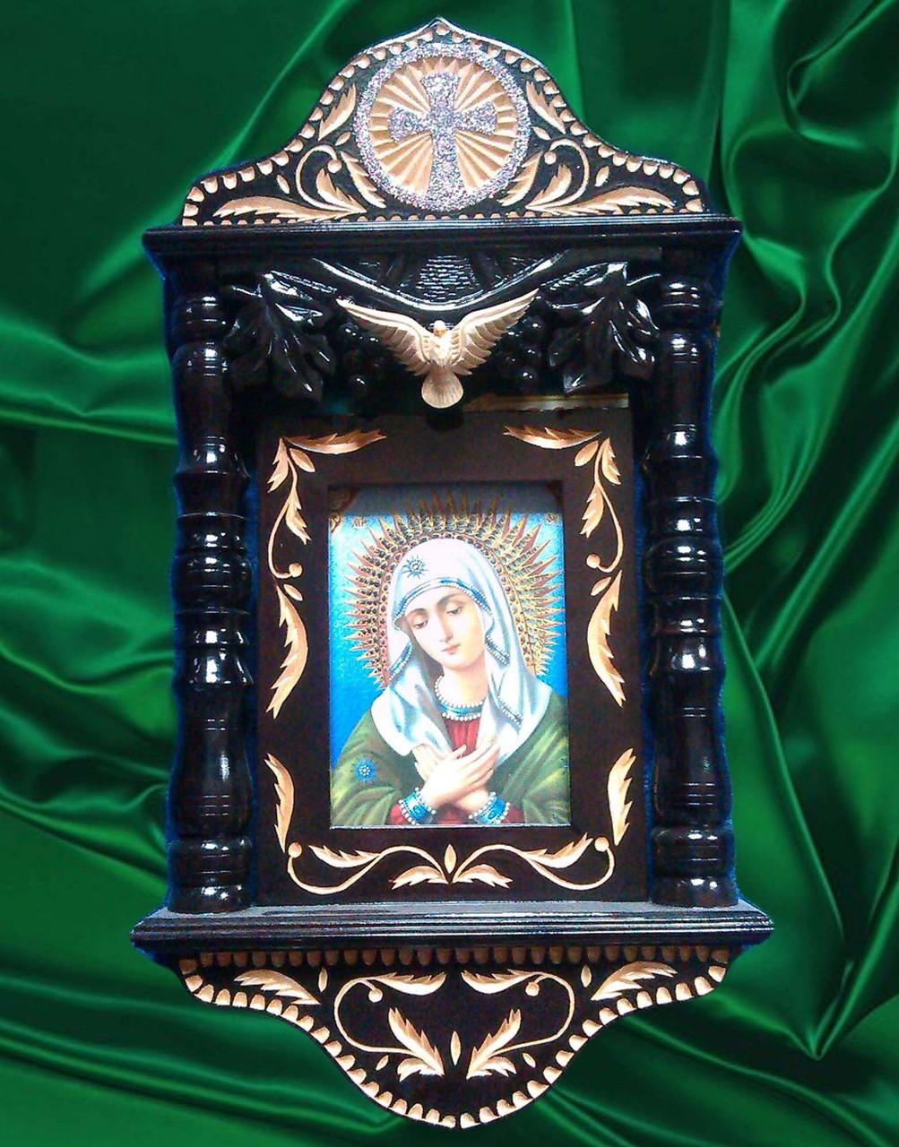 Икона ручной работы подарочная