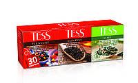 Чай Тесс Ассорти №1 Плэжа+Санрайз+Лайм пакетированный 30х1,5 гр