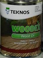 Масло WOODEX WOOD OIL TEKNOS для дерева, 9л.