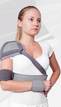 Эластичный ортез для плечевого сустава тензор вводится в суставную щель