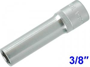 "YATO Головка торцева 6-гран. подовжена , з квадр. 3/8"", М=10 мм, L=63 мм."