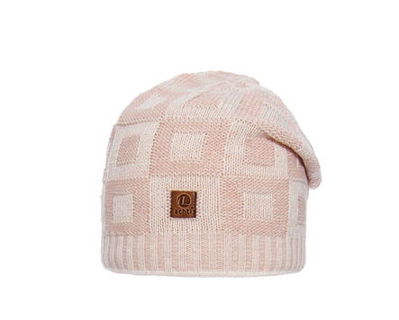 Демісезонна в'язана шапочка для дівчинки підлітка ACHTI Польща, фото 2