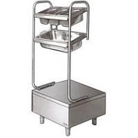 Стойка для столовых приборов и подносов