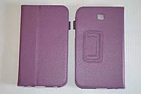 Чехол-книжка для Samsung Galaxy Tab 3 7.0 T210 | T211 | P3200 | P3210 (фиолетовый цвет)