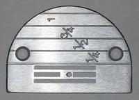 Игольная пластина E16 Ø 1,6 мм Универсальная, фото 1